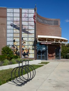 Learn about the Wright brothers at the Aviation Trail Visitor Center and Museum.